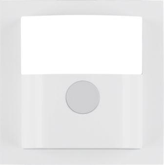 BERKER 11908989 Abdeckung für Bewegungsmelder Kompakt Polarweiß glänzend
