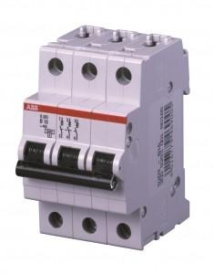 ABB S203-B20 Sicherungsautomat 20A System compact 3-polig B-Charakteristik