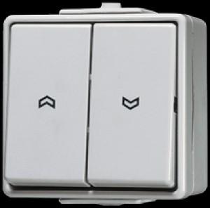 Jung Jalousie-Wippschalter 10 AX 250 V ~