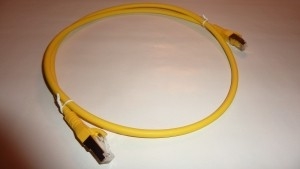 Patchkabel Cat.6A AWG 26 2.0 m gelb
