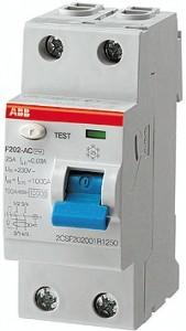 ABB Fi-Schalter F202-25/0.03 2-polig 25 Amp 0.03 SK