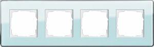 GIRA 0214518 Esprit Abdeckrahmen Mint Glas C 4-fach
