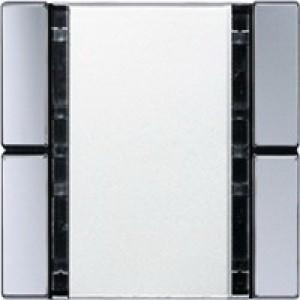 Jung KNX Tastsensor 2fach Universal aluminium A2092NABSAL