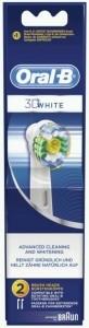 Braun Ersatzbürste EB 3D White 2er