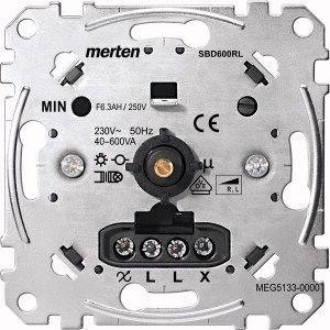 MERTEN MEG5133-0000 Drehdimmer-Einsatz für induktive Last