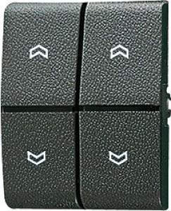 JUNG 805MP Wippe Lichtleiter Symbole für Taster