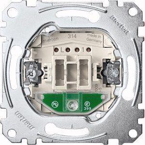 MERTEN MEG3606-0000 Aus/Wechsel-Kontroll schalter, 1-polig, 16AX