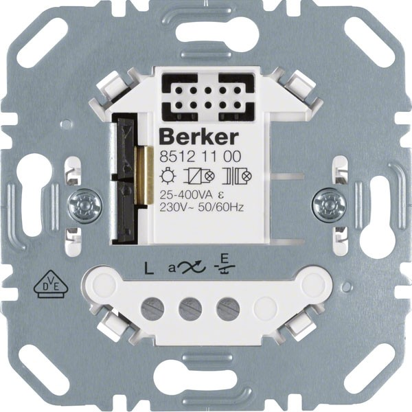 BERKER 85121100 Universal-Schalteinsatz 1fach