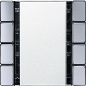 Jung KNX Tastsensor 4fach Universal aluminium A2094NABSAL