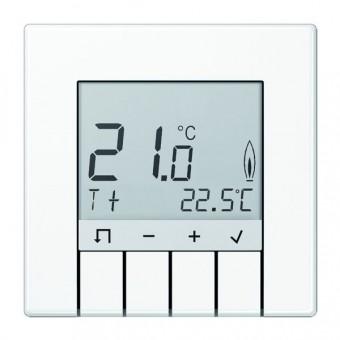 JUNG TRDLS231WW Raumtemperaturregler mit Display Alpinweiß
