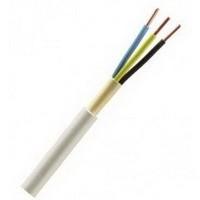 NYM-J 3x1,5 Kabel 100m Mantelleitung PVC grau