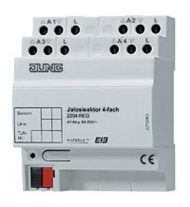 Jung instabus Jalousieaktor 2-fach 2202 REG. 4 TE