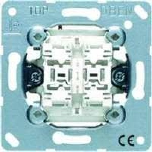 JUNG 535 U 5 Doppel-Taster 2 Schliesser mit Beleuchtung Glimmlampen 94