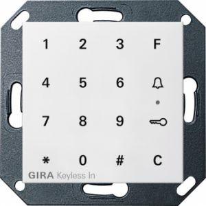 Gira 260527 Keyless In Codetastatur Reinweiß seidenmatt