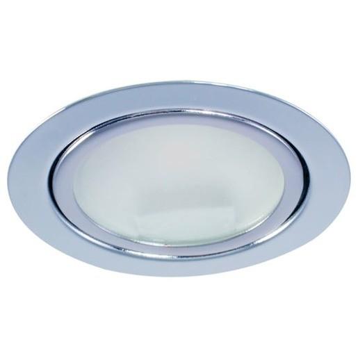 Newlec HLEDMES4W WEISS WW86, ETG1020 LED Möbeleinbaustrahler WEISS 4W warmweiß 86°