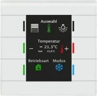 MDT BE-GT2TW.01 Glastaster mit 6 Sensorflächen, weiß weiß