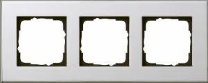 GIRA 021310 Esprit Abdeckrahmen Chrom 3-fach