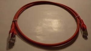 Patchkabel Cat.6A AWG 26 1.5 m rot