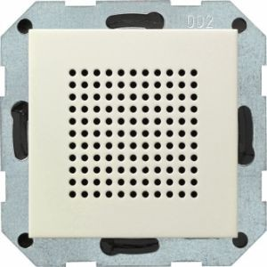 GIRA 228201 Zusatz-Lautsprecher Cremeweiß glänzend