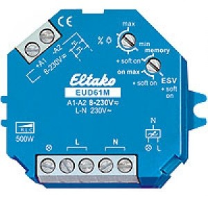 Eltako EUD61M-8..230VUC Dimmschalter