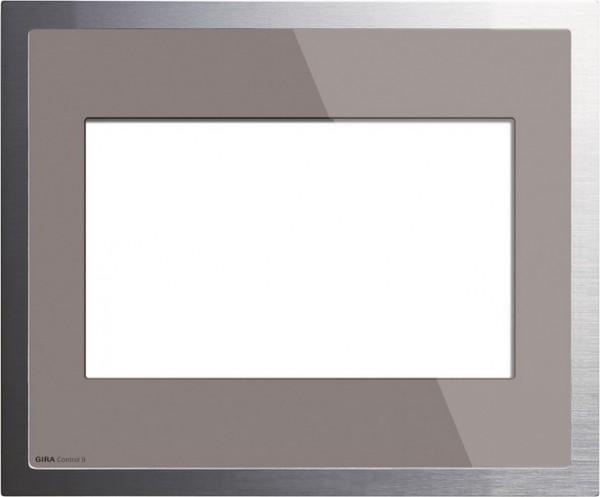 Gira 2080122 Rahmen Control 9 KNX EIB Glas Umbra Alu