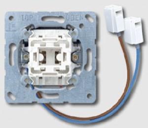 JUNG 506U-LEDW Wippschalter Universal Aus-Wechsel mit integriertem LED-Einsatz