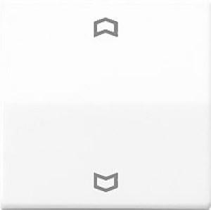 JUNG AS5232 FWW Abdeckung mit Funkempfänger alpinweiß