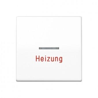 Jung AS 591 H WW alpinweiß Wippe für Heizungsschalter