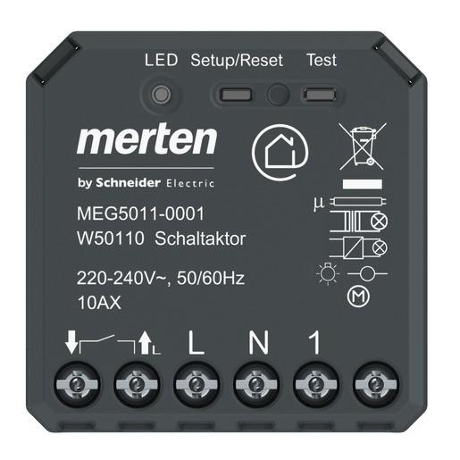 MERTEN MEG5011-0001 Wiser Schaltaktor 1fach UP