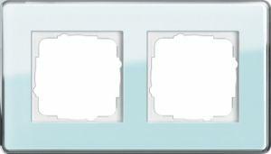 GIRA 0212518 Esprit Abdeckrahmen Mint Glas C 2-fach