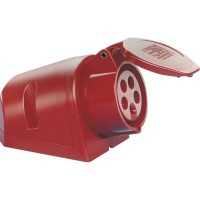 SIROX® CEE-Wanddose IP 44, 5-polig, 400 V, 6 h 32 A