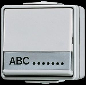 Jung AP/WD Wippwechselschalter 606 NAW