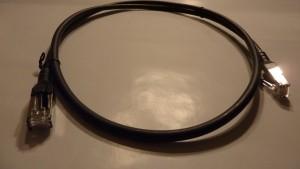 Patchkabel Cat.6A AWG 26 3.0 m schwarz