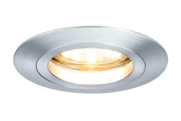 Einbauleuchten-Set Premium Coin dimmbar LED, 7 W, Alu 3er Set