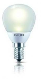 Philips MASTER LEDLUSTER 4-25W 827 E14 matt dimmbar LED Tropfenlampe