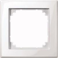 MERTEN 478119 M-SMART-Rahmen 1fach Polarweiss, glänzend