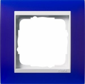 GIRA 0211399 Abdeckrahmen Event Opak Blau 1-fach