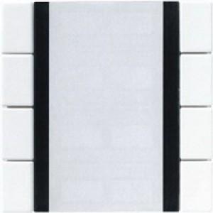 Jung KNX Tastsensor 4fach Universal alpinweiß A2094NABSWW