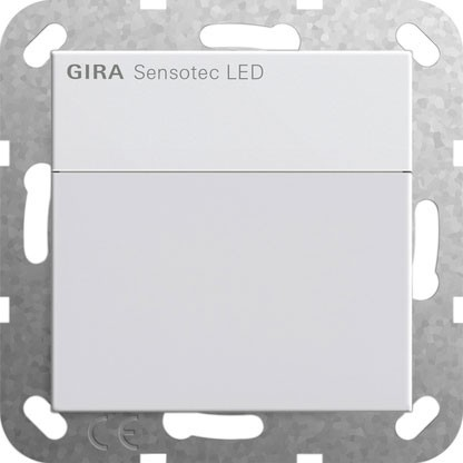 GIRA 237803 Sensotec LED für System 55 reinweiß, glänzend