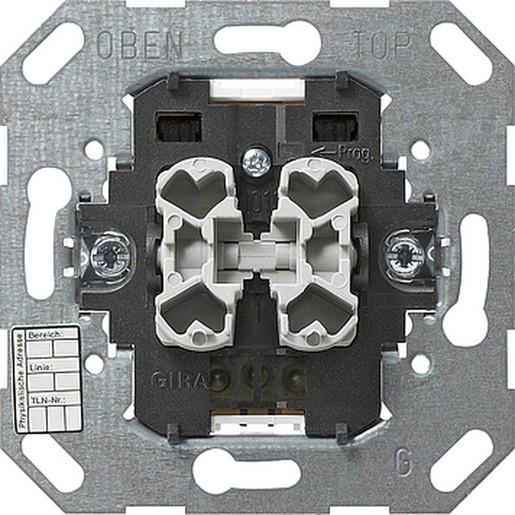 Gira 018200 KNX EIB Einsatz Taster 2fach 1 Punktbedienung