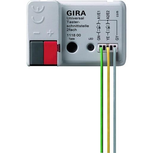 Gira 111800 KNX EIB Universal- Taster- Schnittstelle 2fach