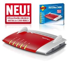 AVM FRITZ!Box 7490 WLAN Router