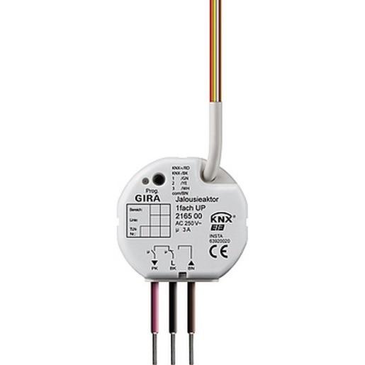 Gira 216500 KNX EIB Jalousieaktor 1fach UP