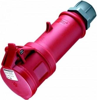 Mennekes 36 Kupplungsdose StarTOP mit SafeCONTACT 32A-400V 5polig, IP 44, spritz