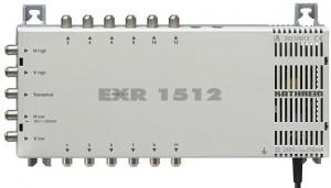 Kathrein Umschaltmatrix EXR 1512 5 Eingänge 12 Ausgänge aktiv