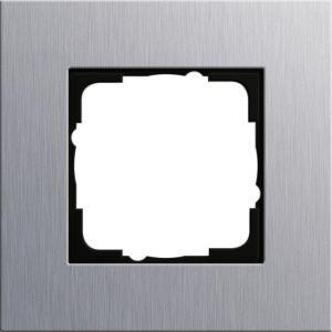 GIRA 021117 Esprit Abdeckrahmen Aluminium 1-fach