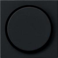 Gira 0650005 System 55 Abdeckung Drehdimmer und elektronisches Potentiometer Schwarz matt