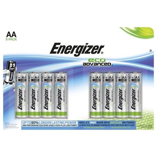 Energizer Eco Advanced AA / Mignon / LR6 8er ,LR6