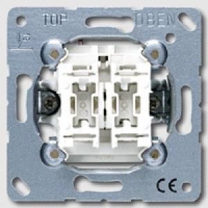 JUNG 505 U 5 Wippschalter Unterputz-Einsatz Serie 2 mit Glimmlampen 94