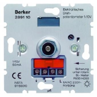BERKER 289110 Elektronisches Drehpotenti ometer 1-10 V mit Druck-Ausschalter